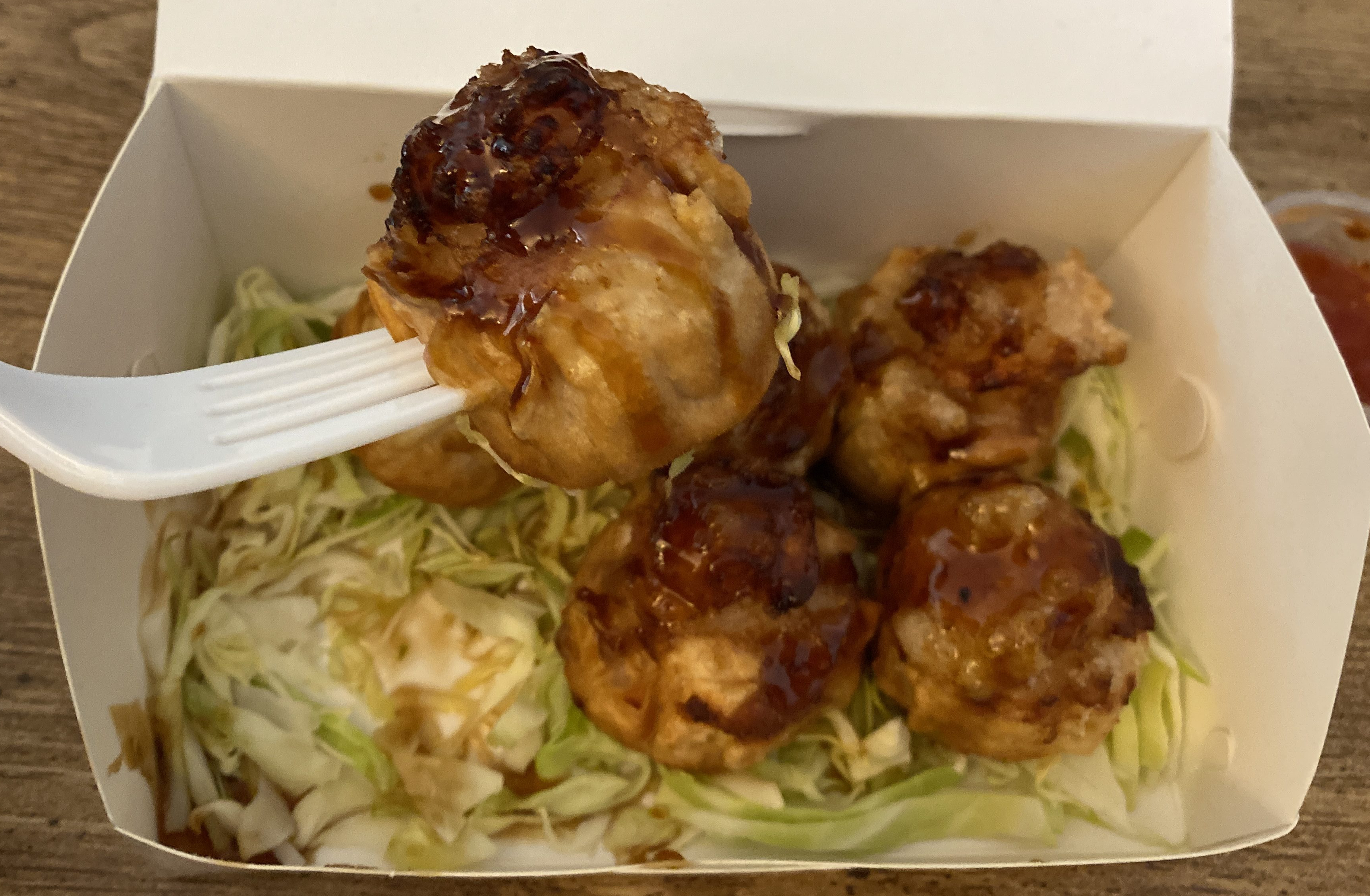 Deep fried shumai from A Sack of Potatoes were exceptionally delicious!